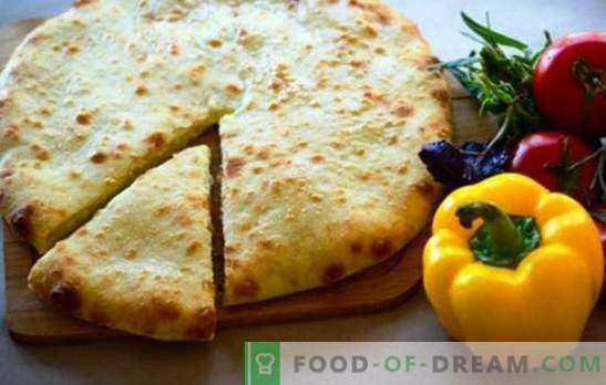Imeretinsky Khachapuri - verta pabandyti! Imeretinsky khachapuri receptai su suluguni, varškės, bulvės, mėsa
