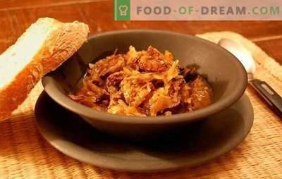 Bigus lėtoje viryklėje - tautos patiekalas! Įvairių bigų receptai lėtoje viryklėje: su kopūstais, bulvėmis, mėsa, vištiena