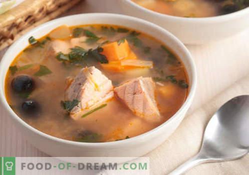 """""""Hunchback"""" sriubos - patvirtinti receptai. Kaip tinkamai ir skaniai virti rožinės lašišos sriuba."""