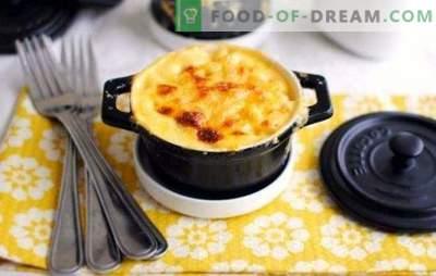 Krompir iz krompirja - okusna večerja za posebno priložnost. Najboljši recepti za krompir z mletim mesom v lončkih