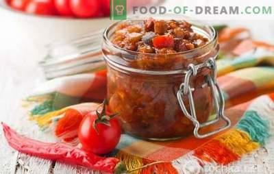 Przepisy na najlepsze sałatki z bakłażana i pomidorów na zimę. Jak zachować wszystkie korzyści w sałatkach z bakłażanów i pomidorów