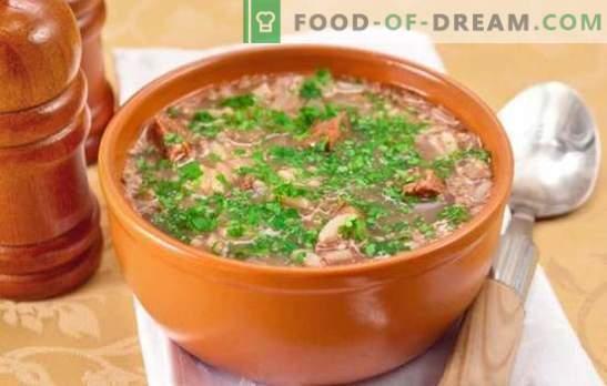Klasikinė Kharcho sriuba - įdomūs receptai. Kepimo sriuba - klasikinis jautienos, ėrienos, kiaulienos kharcho