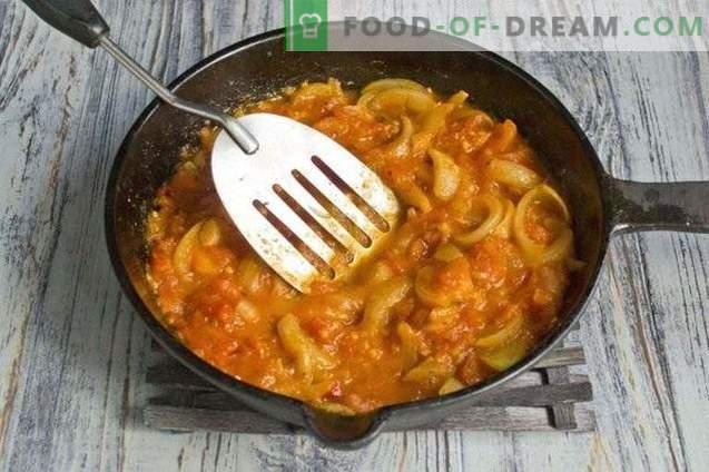 Tomato Casundi - Indijos pomidorų padažas