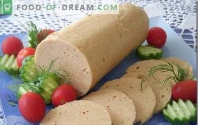 Tai nėra GOST! Naminis vištienos dešra - daug geriau ir pigiau! Tradiciniai ir originalūs naminių vištienos dešrų receptai