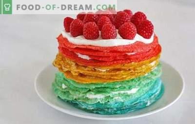 Blynų pyragas su grietine: neįprastas desertas ar originalus užkandis? Blynų tortų receptai su grietine visoms progoms