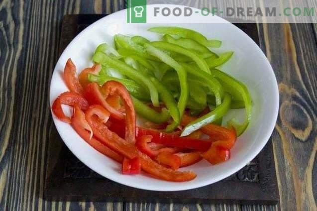 Daržovių troškinys, kepamas ant kepimo skardos