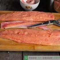 Skandinavijos žuvų užkandis - runkelių gravlax