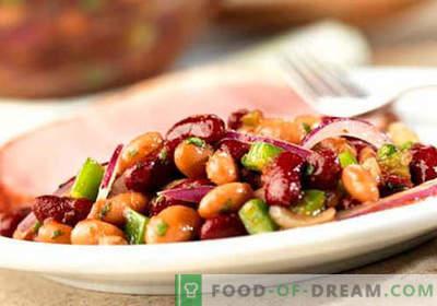 Raudonųjų pupelių salotos - įrodyta receptai. Kaip paruošti raudonų pupelių salotas.