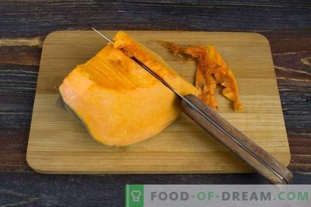 Moliūgų pyragas dėl kefyro su džiovintais vaisiais