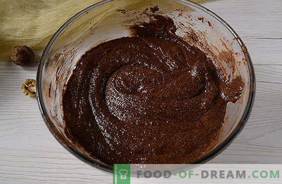 Les muffins au chocolat sont un bon début de journée. Recette photo étape par étape de l'auteur de muffins au chocolat avec semoule