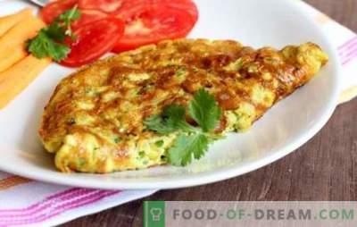 Cuire une omelette dans une mijoteuse: aérée, rougeâtre avec saucisse, fromage, légumes verts. Comment faire cuire une omelette dans une mijoteuse - enseignez!