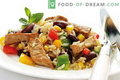 Ryžiai su mėsa - geriausi receptai. Kaip tinkamai ir skaniai virti ryžius su mėsa.