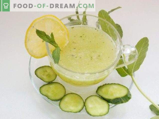 Agurkų limonadas