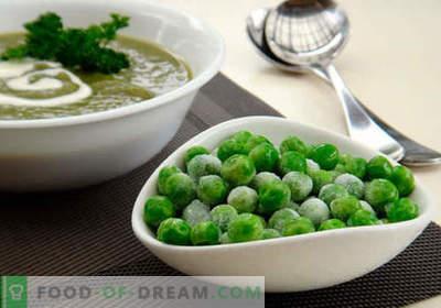 Žalioji žirnių sriuba - įrodyta receptai. Kaip tinkamai ir skaniai virti sriubos su žaliais žirneliais.
