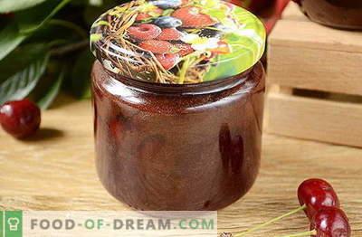 Originalus vyšnių uogienė su šokoladu