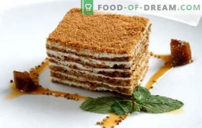 Medaus pyragas klasikinis - kiekvieno mėgstamiausio torto receptas. Klasikiniai medaus pyragaičiai su kondensuotu pienu, grietine, pudele