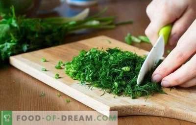 Naudojimo sąlygos ruošiant žaliąsias: švieži, džiovinti ir sušaldyti