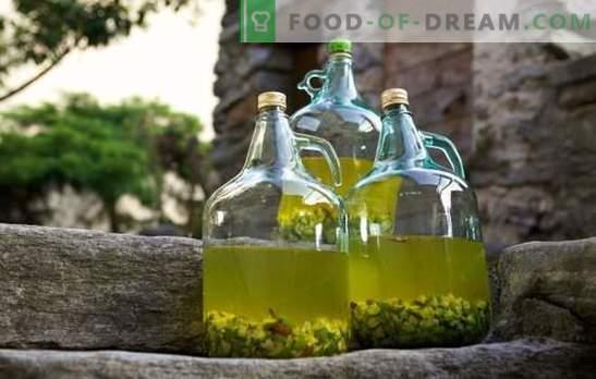 Maitsev ja kvaliteetsed omadused puuviljatoodete puhul, mis on ette nähtud kodustatud karusmarjade veinile. Tehnoloogia karusmari veini retseptid profidest
