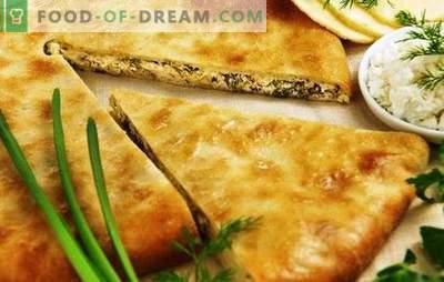 Osetijos pyragai su sūriu ir žalumynais - tai neįprastas skonis! Osetijos pyragų receptai su sūriu ir žolelėmis iš įvairių tešlos