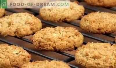 Avižiniai dribsniai - geriausi receptai. Kaip virti avižiniai sausainiai.