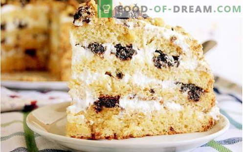Medaus tortas - geriausi receptai. Kaip tinkamai ir skaniai virti medaus pyragą.