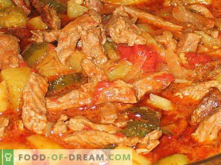 Jautiena Azu - geriausi receptai. Kaip tinkamai ir skaniai gaminti jautienos mėsą