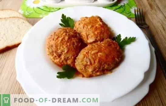 Lazy kopūstai: lengva virti su smulkinta mėsa! Lazių kopūstų ruošimo technologija su maltomis kiauliena, vištiena, veršiena