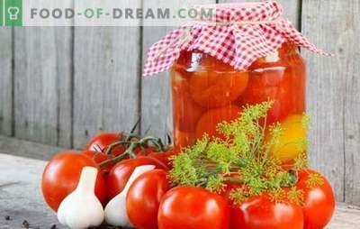 Домати во банките за зима - показател за женската економија! Рецепти домати во банките за зима