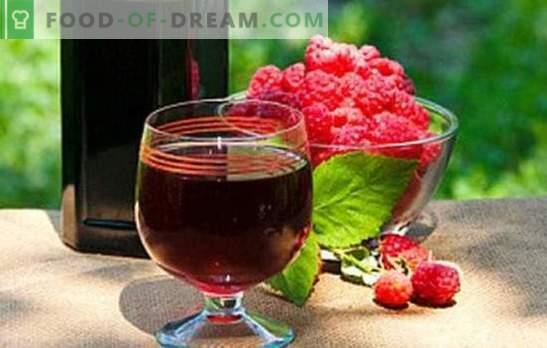 Vino casero de frambuesa: ¡un aroma embriagador! Llena la despensa con vinos de la casa de frambuesa: las mejores recetas
