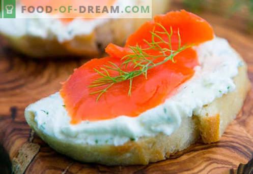 Žuvų sumuštiniai yra geriausi receptai. Kaip greitai ir skaniai virti sumuštinius su žuvimis.