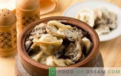 Orkaitėje kepti bulvių koldūnai - tiesiog skanūs. Gėrimų receptai vazonuose su sūriu, grybais, kepenimis, pomidorais