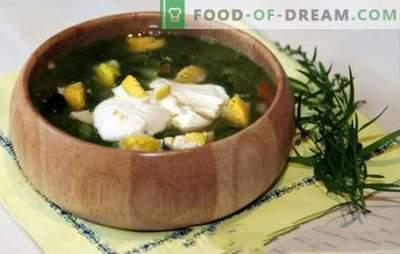 Saldainių sriuba vištienos sultinyje - pavasario-vasaros meniu. Saldainių sriuba su vištienos sultiniu - greitai receptai pirmiesiems kursams su sveiką racionalizmą