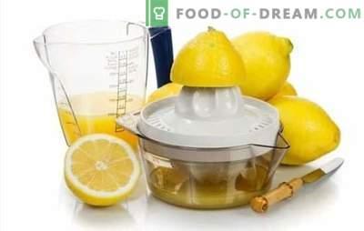 Kepimo citrinos sultys - receptai su dievišku skoniu! Citrinų sultys: alkoholinių ir nealkoholinių gėrimų receptai su jais