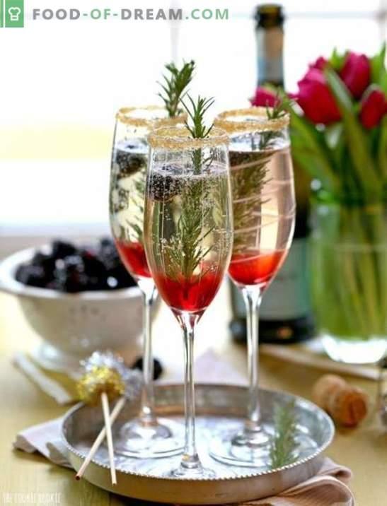 Alkoholiniai Naujųjų metų kokteiliai: TOP-5 receptai. Kaip nudegti gražiai?
