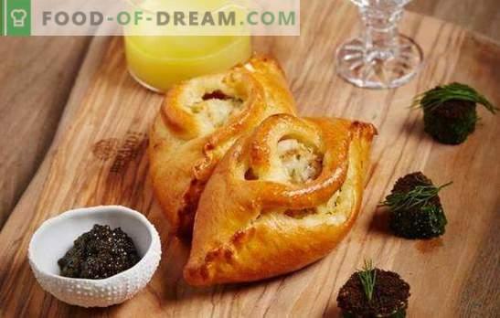 Pyragas su žuvimi, svogūnais, kiaušiniais, grietine: kodėl atleiskite pyragus? Rusų liaudies ženklas: žuvų pyragas - būti žuvų sriuba!