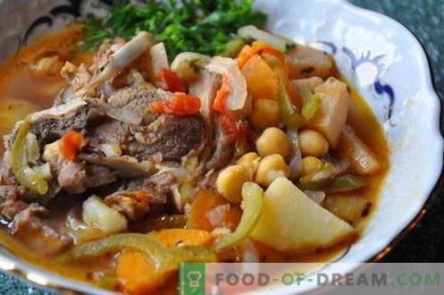 Bozbash - geriausi receptai. Kaip tinkamai ir skaniai virti Bozbash.