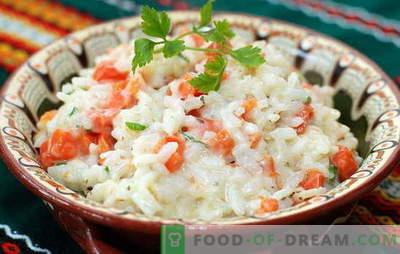 Morkų ryžiai - visada draugiški! Saldūs ir aštrūs, kepti, virti ir kepti - ryžių patiekalai su morkomis: geriausi receptai