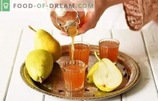Kriaušių tinktūra namuose - skanus alkoholis! Geriausių kriaušių tinktūros receptų pasirinkimas namuose