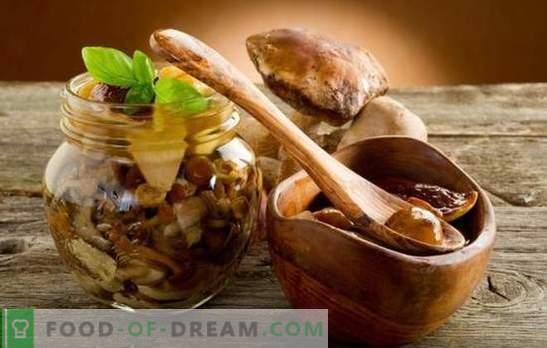 Kaviaras su česnako grybais - pagrindinės maisto ruošimo taisyklės. Įrodyta grybų ikrai su česnakais ir tinkamais ingredientais