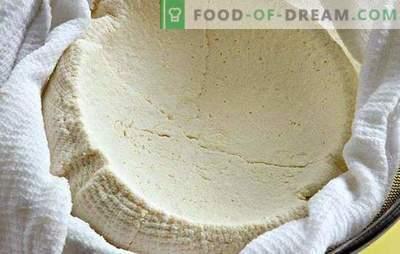 Kaip namuose gaminti varškę iš jogurto: lengva. Naminis varškės sūris - skanus ir sveikas