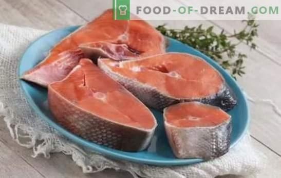 Cojack kepsnys - nuostabių žuvų mėgėjams! Coho kepsnių receptai su citrina, daržovėmis, grietinėlėmis, sojos padažu, garinti