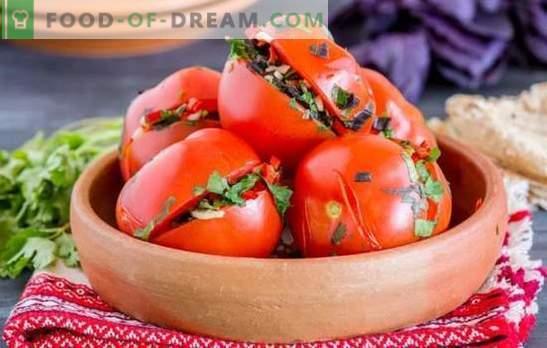 Armėnų pomidorai: aštrūs ir aštrūs pomidorai. Geriausi tradiciniai pomidorų receptai Armėnijos stiliumi
