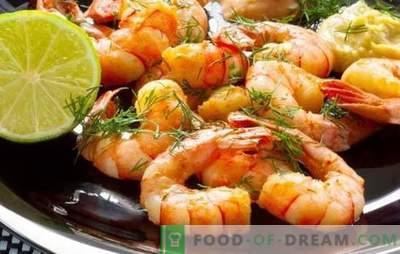 Krevetės su česnakais - nuostabus skonio duetas! Geriausi krevečių su česnakais receptai.