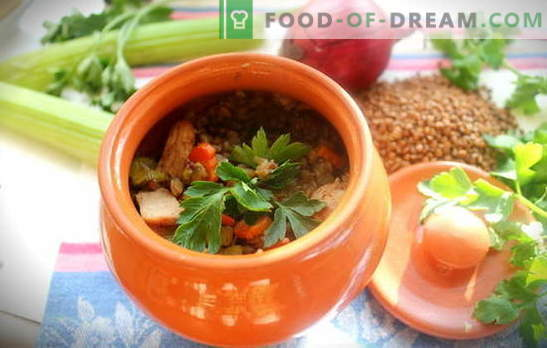 Grikiai su mėsa puodelyje - trapus košė be vargo. 6 geriausi grikių ruošimo receptai su mėsa puodelyje