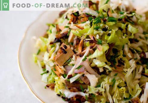 Pavasario salotos - geriausių receptų pasirinkimas. Kaip tinkamai ir skaniai virti pavasario salotas.