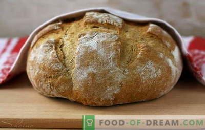 Namų gamybos geriau nei nupirkta - ruginė duona! Mielėse ir kefyre su mielėmis ir be jų - naminiai rugių duonos receptai