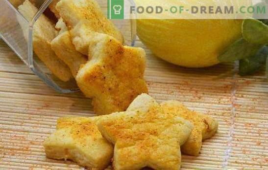Citrinų slapukus - saulėtai nuotaikai! Receptai skaniems citrinų sausainiams: glaistyti pyragaičiai, sausainiai, prancūziški