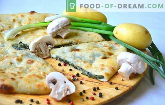 Bulvių ir svogūnų pyragas yra naminis skonis! Įvairių pyragų su bulvėmis ir svogūnais receptai krosnyje ir daugiakanalio virimo aparate