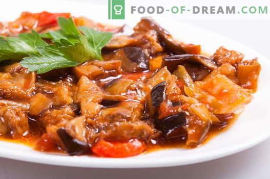 Geriausi receptai yra troškinti baklažanai. Kaip tinkamai ir skaniai virti baklažanų.