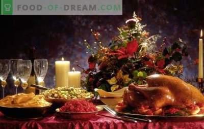 Kas turi būti ant Kalėdų stalo?
